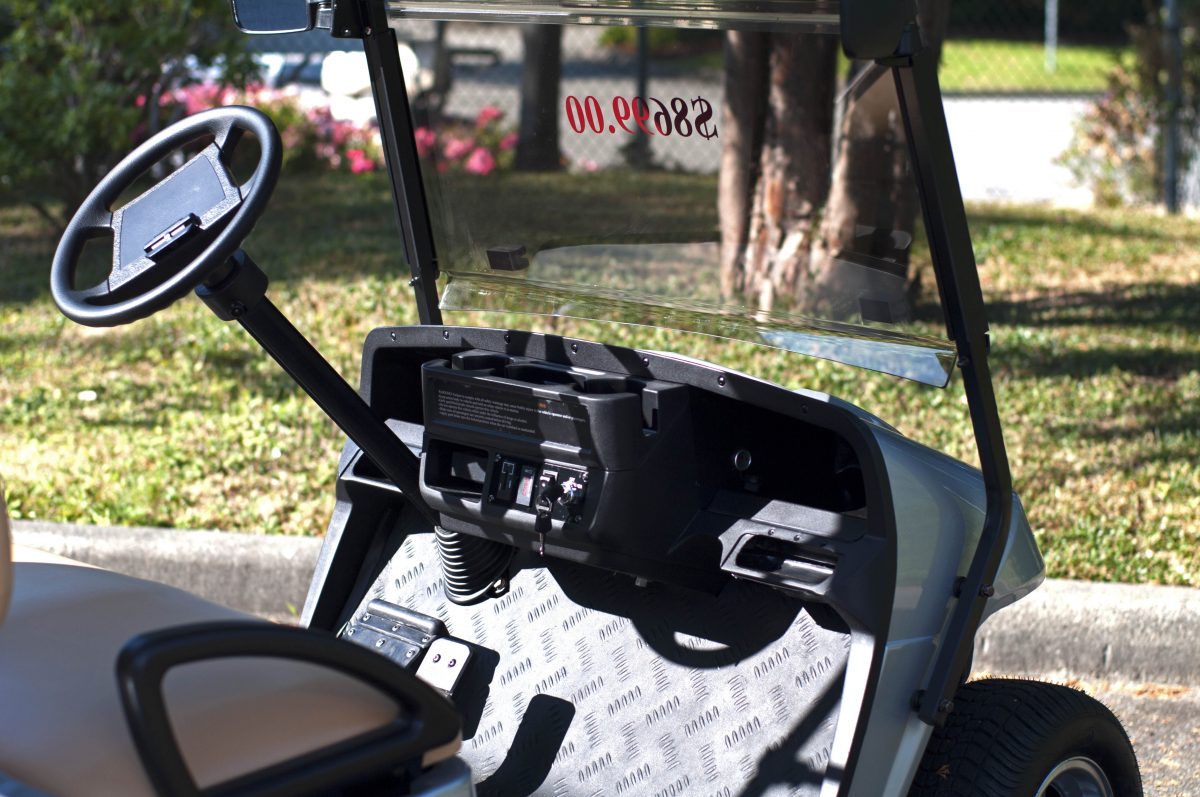 Silver Hobbit Electric Golf Cart For Sale